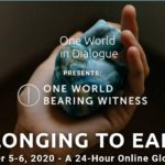One World Bearing Witness - Belonging to Earth